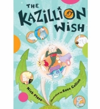 The Kazillion Wish, USA edition (Chicken House Press)