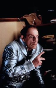 Christopher Lloyd, being careful not to over-act.
