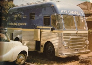 The HSV7 outside broadcast (OB) van. My dad picked my mum up for one of their first dates in this van. True story.