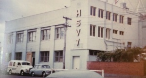 HSV7 in 1956. I would finally work there 39 years later.