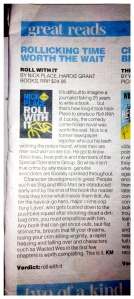 Keith Moor's Herald Sun review, Saturday March 30.