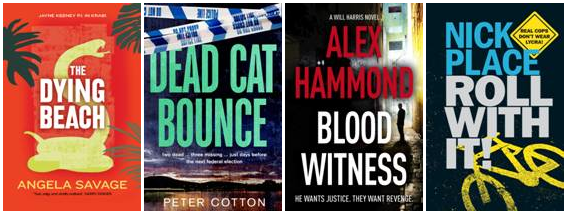 The evening's line-up of Fitzroy crime thrillers ...