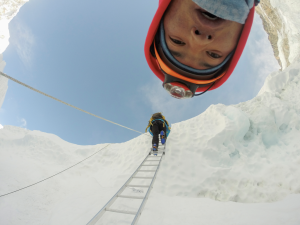 Sherpas doing their thing on Everest. The subject of a gripping Australian doco.